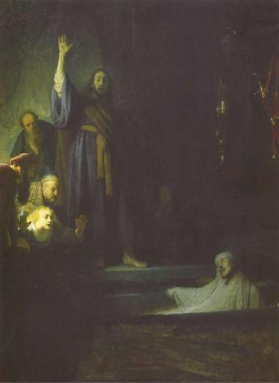 The Raising of Lazarus image
