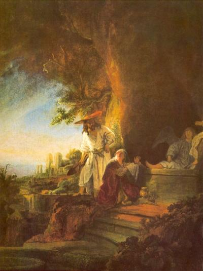 The Resurrected Lord Appears to Mary Magdalene image